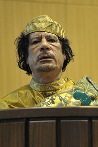 Muammar al-Gaddafi, 12th AU Summit, 090202-N-0506A-534 cropped.jpg