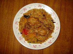 English: Chicken Biryani, Murgh Biryani, Murgh...