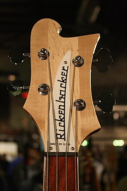 Rickenbacker 4000 headstock @ SHG30