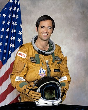 Capt. Robert Crippen, USN, STS-1 pilot, STS co...