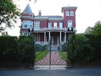 La casa di Stephen King a Bangor, nel Maine.