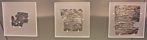 The Curse Tablets - Roman Baths (Bath)