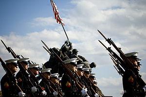 English: WASHINGTON (Nov. 10, 2008) U.S. Marin...