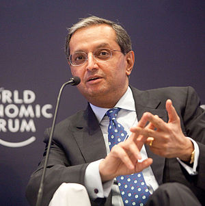 English: Vikram Pandit, Chief Executive Office...