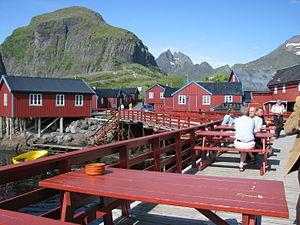 Å, Moskenes; Norway