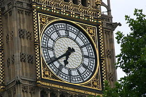 Close up on the Big Ben