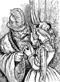 Blue Beard in Tales of Mother Goose (Welsh)