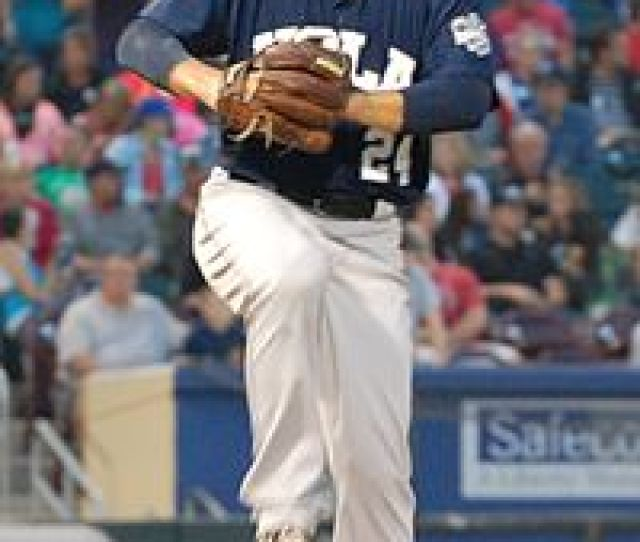 Hand Pitching For The New Orleans Zephyrs In