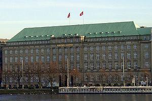 Headquarters of Hapag-Lloyd in Hamburg