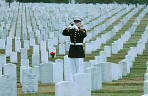 English: Arlington National Cemetery: A U.S. M...