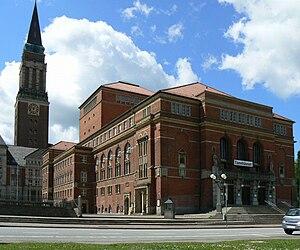 Kieler Opernhaus. Bauzeit: 1905–1907, Architek...