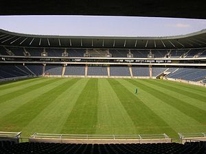 Orlando Stadium in Soweto, South Africa.