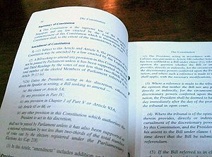 Article 4 of the 1999 Reprint of the , also kn...