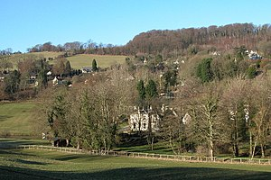 Slad. The village of Slad lies in one of the v...