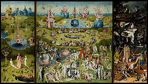 The Garden of Earthly Delights by Hieronymus B...