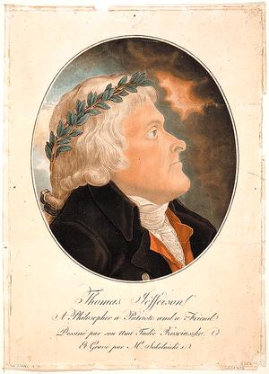 Thomas Jefferson by Tadeusz Kościuszko, Copypr...