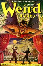 English: Cover of the pulp magazine Weird Tales
