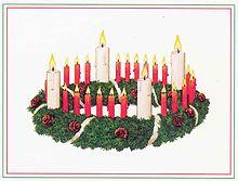 Advent wreath - Wikipedia