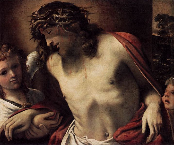 File:Annibale Carracci - Christ Wearing the Crown of Thorns, Supported by Angels - WGA04427.jpg