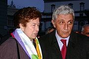 Rosa Russo Iervolino insieme ad Antonio Bassolino, attuale presidente della Regione Campania
