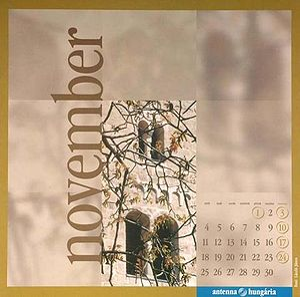 Calendar, November