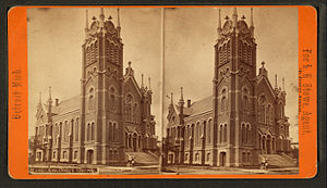 A Congregational church in Detroit, Michigan (...