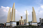 Democracy monument, Bangkok, Thailand.jpg