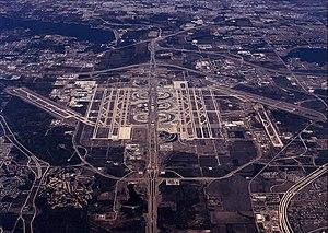 Dallas/Fort Worth International Airport serves...