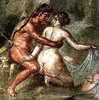 Pompeii, bir fresk