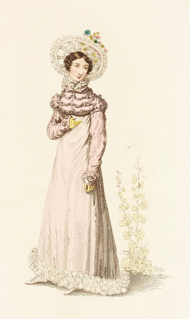 Fashion Plate (Public Promenade or Summer Visiting Dress) LACMA M.86.266.281