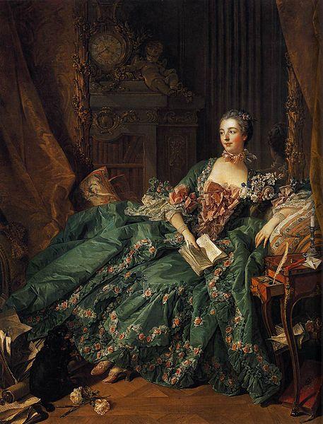 Marquise de Pompadour by Francios Boucher