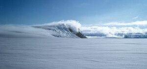 Grimsvötn in Vatna Jökull glacier in Iceland o...