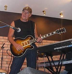 Jan Akkerman, a Dutch guitarist in Arkhangelsk...