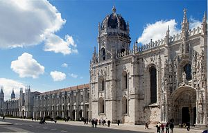 English: The Monastery of Jerónimos, Lisbon, P...