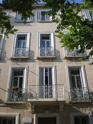 Français : la maison natale de marcel pagnol (...
