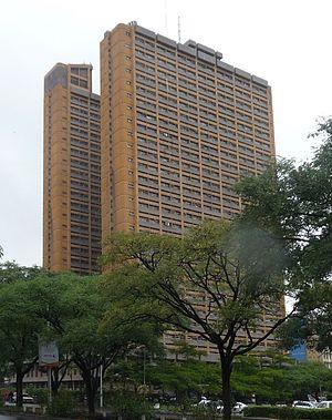 English: Nyayo House, Nairobi