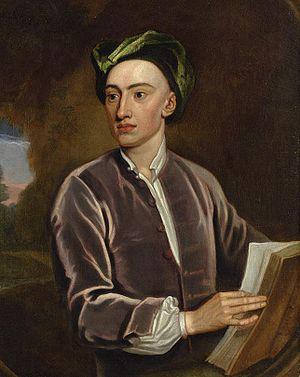 Portrait of Alexander Pope