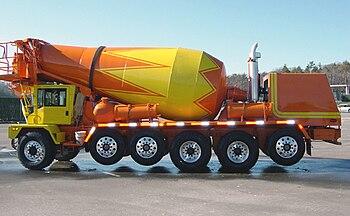 English: Scott Seitz. Ready Mix Concrete Truck...