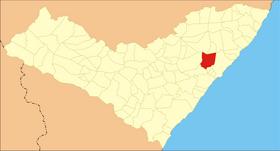 Localização de Rio Largo