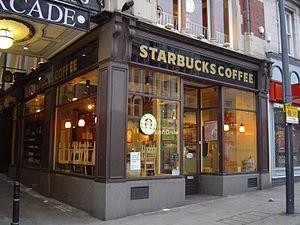 Starbucks on Briggate