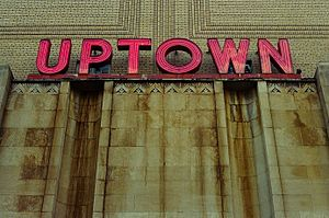 Uptown Movie Theater Washington DC, 2008