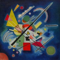 """Blue Painting"" by Vasily Kandinsky"