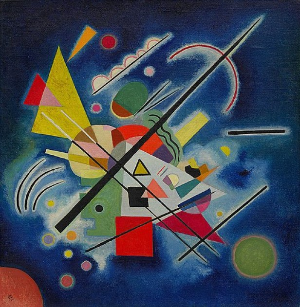 """Blue Painting"" by Vasily Kandinsky"