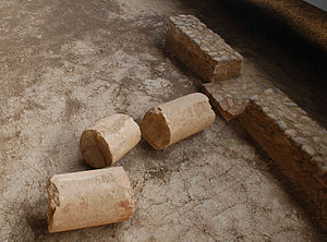 English: Roman Villa of La Olmeda in Pedrosa d...