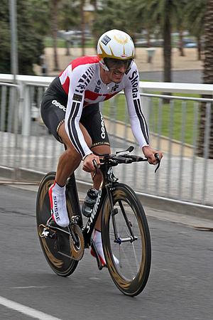 English: Fabian Cancellara, Swiss professional...