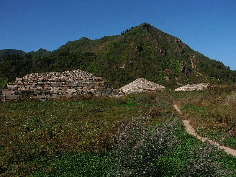 File:5th century tombs of rulers of Koguryŏ.jpg