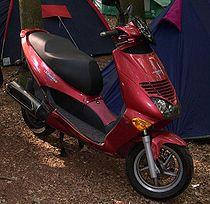 Aprilia Leonardo scooter