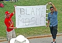 Blaming Max Mosley.