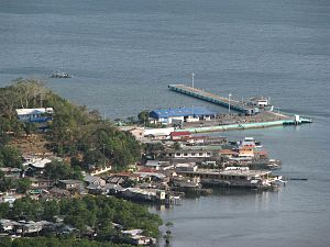 Coron harbour, Busuanga island (Palawan)