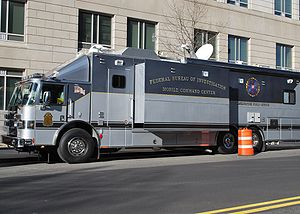 FBI Mobile Command Center in Washington DC.